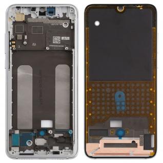 Gehäuse Rahmen Mittelrahmen Deckel für Xiaomi Mi 9 Lite Silber Ersatz Reparatur