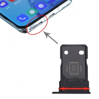 Für OnePlus 9 Pro Dual Sim Karten Halter Adapter Schwarz Ersatzteil Reparatur