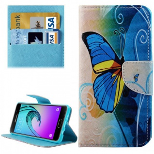 Bookcover Wallet Muster für Smartphones Tasche Hülle Case Etui Cover Zubehör Neu - Vorschau 5