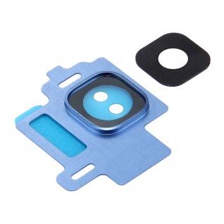 Kameraglas für Samsung Galaxy S8 G950F Kamera Ring Glas Rahmen Cover Blau Neu - Vorschau 3