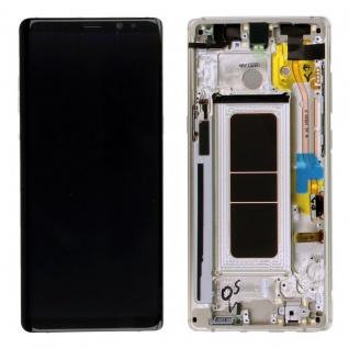 Display Full LCD Komplettset GH97-21065D Gold für Samsung Galaxy Note 8 N950F
