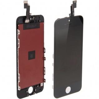 Display LCD Komplett Einheit Touch Panel für Apple iPhone 5S Schwarz Glas Ersatz