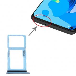 Für Huawei P20 Lite 2019 Dual SIM Karten Halter + Micro SD Twilight Ersatzteil