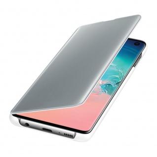 Samsung Flip Tasche Clear View EF-ZG973CWEGWW für Galaxy S10 G973F Cover Weiß - Vorschau 4