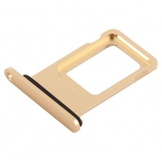 Für Apple iPhone XR 6.1 Zoll Sim Karten Halter Gold SD Card Ersatzteil Zubehör - Vorschau 2