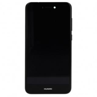 Huawei Display LCD Einheit Rahmen für P8 Lite 2017 Service Pack 02351CTJ Schwarz - Vorschau 2