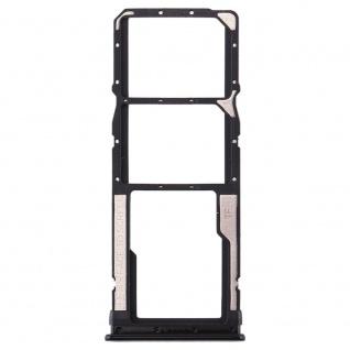 Sim Card Tray für Xiaomi Redmi Note 8 Schwarz Karten Halter Holder Ersatzteil