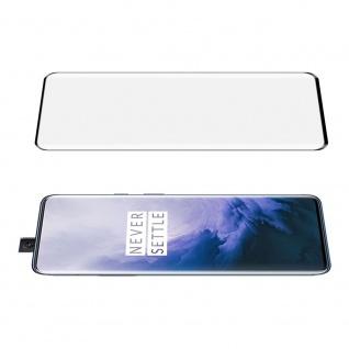 Full Hartglas 0, 26 mm dünne H9 für OnePlus 7 Pro Schwarz Curved Schutz Folie