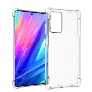 Für Samsung Galaxy A52 5G Handy Tasche Transparent Schock Hülle Etuis Cover Neu