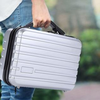 Tragbarer Hartschalen Koffer Silber für DJI Mavic 2 Pro Drohnen Transport Koffer