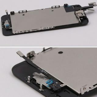 All in One Display LCD Komplett Ersatz Touch kompatibel Apple iPhone 5S Schwarz - Vorschau 2