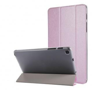 Für Samsung Galaxy Tab A7 Lite 2021 Wake UP Smart Cover Tablet Tasche Rosa Etuis