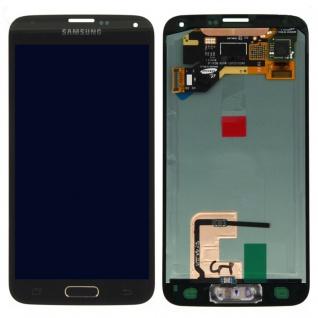 Display Full LCD Komplettset Gold für Samsung Galaxy S5 G900 / S5 Plus G901F Neu