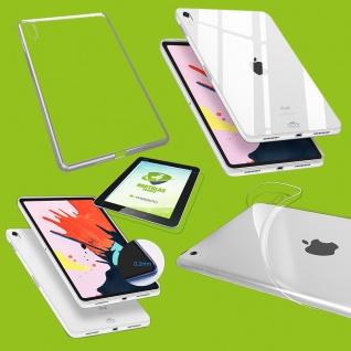 Für Apple iPad Pro 12.9 Zoll 2018 Transparent Hülle Tasche Cover + H9 Hart Glas