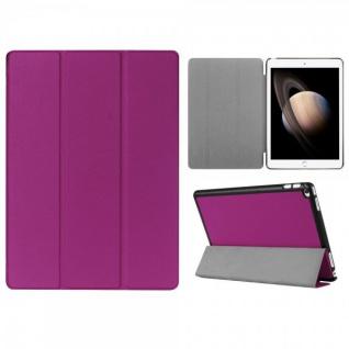 Smartcover Lila Tasche Wake UP Hülle Case für Apple iPad Pro 12.9 Zoll 3. Gen