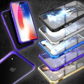 Hochwertiger Metall Schock Bumper für Apple iPhone X / 10 / XS Tasche Hülle Case