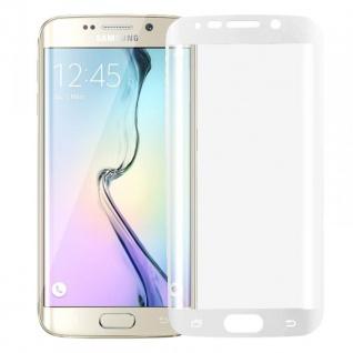 Hybrid TPU gebogene Panzerfolie Weiß für Samsung Galaxy S6 Edge Plus G928 F Neu