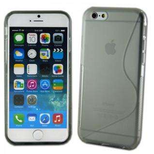 Silikoncase S-Line Design Case Transparent Cover Zubehör für Apple iPhone 6 4.7