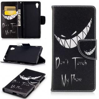 Tasche Wallet Premium Muster 22 für Sony Xperia XA1 Schutz Hülle Case Cover Neu