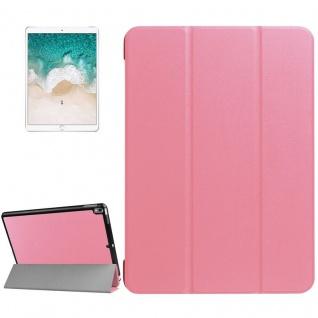 Smartcover Rosa Cover Tasche für Apple iPad Pro 10.5 2017 Hülle Etui Case Schutz