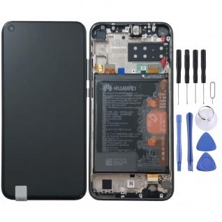 Huawei Display LCD Pack Rahmen für P40 Lite E Service 02353FMW Schwarz Batterie