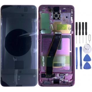 Samsung Display Ersatz LCD Komplett für Galaxy S20 G981F 5G GH82-22123C Pink Neu
