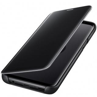 Samsung Flip Tasche Clear View EF-ZG960CB für Galaxy S9 G960 Hülle Cover Schwarz - Vorschau 3