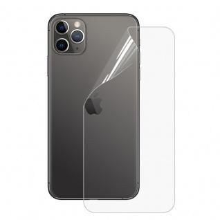 Folie Backcover Transparent für Apple iPhone 11 Pro Soft Hydrogel Ersatzteil
