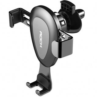 Universal 360° KFZ Halter Lüftungsgitter Wireless Charging Vent Mount Schwarz