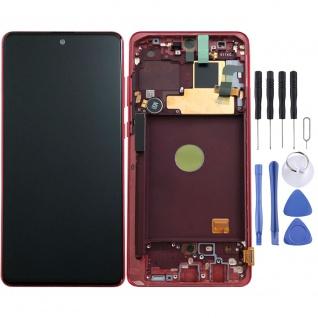 Samsung Display LCD Komplett für Galaxy Note 10 Lite N770F GH82-22055C Aura Red