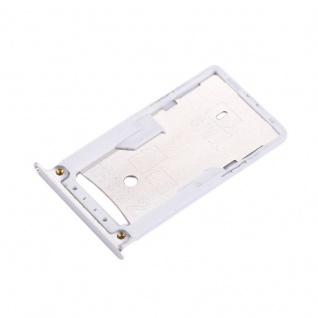 Für Xiaomi Redmi 4X Sim Karten Halter Sim Tray Sim / TF Schlitten Holder Silber