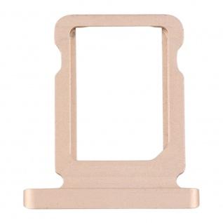 Für Apple iPad Pro 12.9 2017 Simkarten Halter Card Tray Gold Ersatzteil Zubehör
