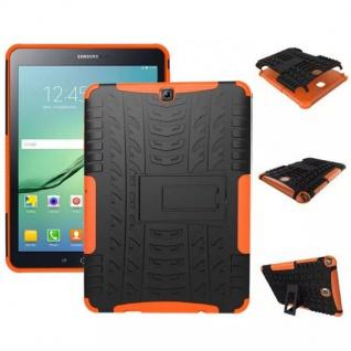 Hybrid Outdoor Schutzhülle Orange für Samsung Galaxy Tab S2 9.7 T810 Tasche Case
