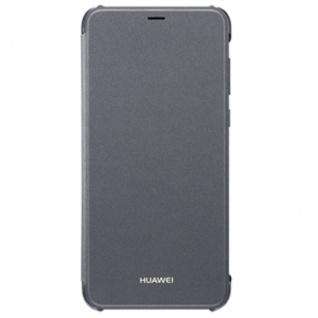 Original Huawei Flip Cover Schwarz für Enjoy 7S / P Smart Etui Tasche Hülle Case