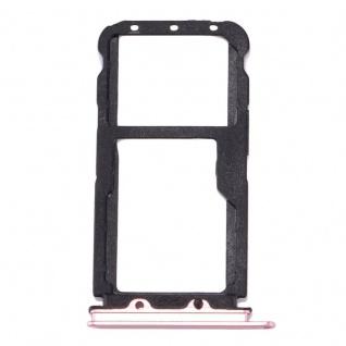 Für Huawei Nova 2 Sim Karten Halter Sim Tray Sim Schlitten Sim Holder Pink Neu