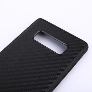 Hybridcase Carbon Schwarz Hülle für Samsung Galaxy Note 8 N950 N950F Tasche Neu - Vorschau 4