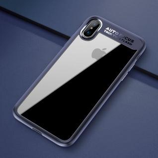 Original ROCK Bumper Case für Apple iPhone X / XS Tasche Hülle Etui Case Blau