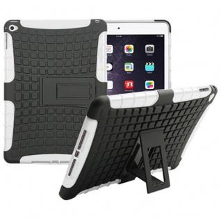 Hybrid Outdoor Schutzhülle Cover Weiß für Apple iPad Air 2 Tasche Case Hülle Neu