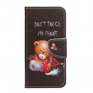 Tasche Wallet Book Cover Motiv 20 für Huawei P Smart Hülle Case Etui Schutz Neu - Vorschau 5