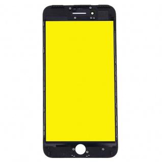 Display Glas für Apple iPhone 7 4.7 LCD Displayglas + Rahmen + OCA Kleber Black - Vorschau 2