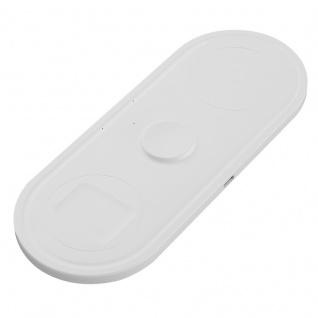 KT-W50A8 Wireless Charger Induktives Laden Weiß für Apple Produkte