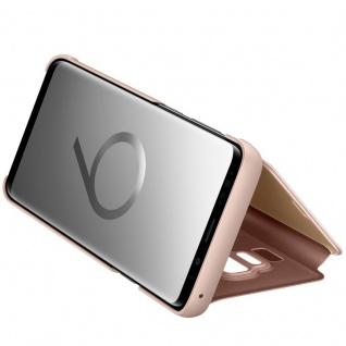 Samsung Flip Tasche Clear View EF-ZG965CFE für Galaxy S9 Plus G965F Cover Gold - Vorschau 5