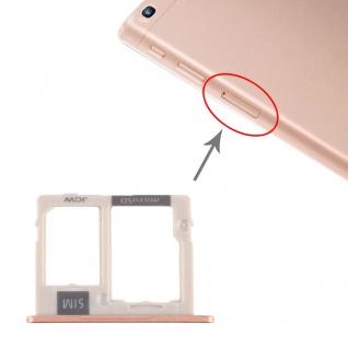 Sim Karten Halter für Samsung Galaxy Tab A 10.1 2019 Micro SD Tray Gold