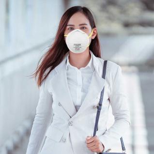 50x MEIXIN Hochwertige Medizinische Atem Schutzmaske Atemschutzmaske FFP2 Schutz Maske Zubehör Neu - Vorschau 3