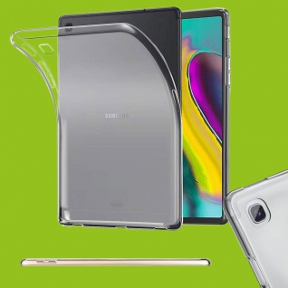 Für Samsung Galaxy Tab S5e 10.5 T720F Transparent Tasche Hülle TPU Silikon dünn