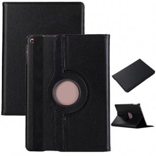 Schutzhülle 360 Grad Schwarz Case Cover Etui Tasche für NEW Apple iPad 9.7 2017