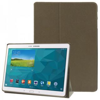 Smartcover Braun für Samsung Galaxy Tab S 10.5 T800 Hülle Case Cover Zubehör