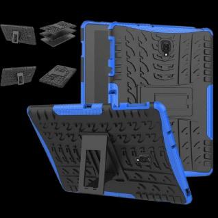 Hybrid Outdoor Schutz Hülle Blau für Samsung Galaxy Tab S4 10.5 T830 Tasche Case
