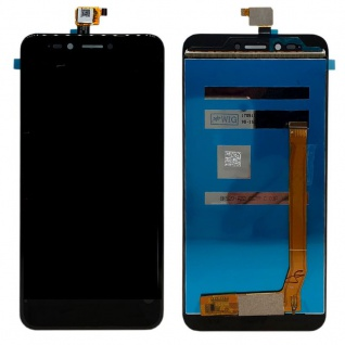 Display Full LCD Einheit Touch Ersatzteil für Wiko Upulse Lite Reparatur Schwarz
