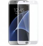 0, 3 mm H9 gebogenes Hartglas Weiß Folie für Samsung Galaxy S7 Edge G935 F Neu